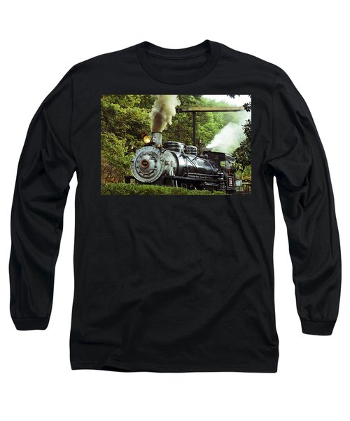 Steam Engine Long Sleeve T-Shirt by Laurie Perry