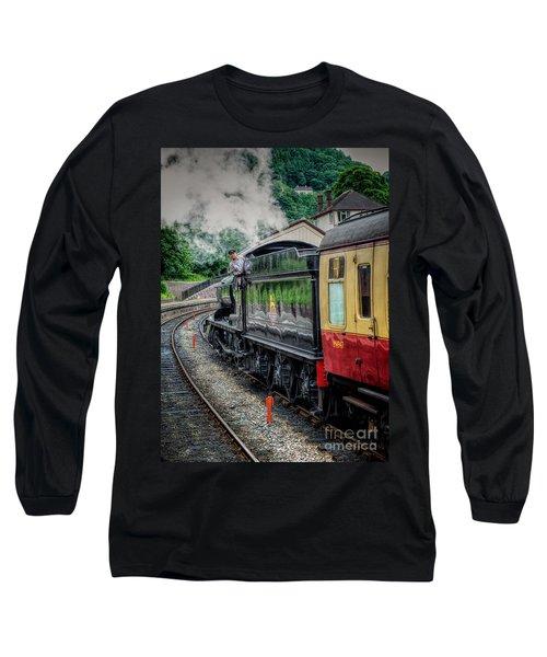 Steam Train 3802 Long Sleeve T-Shirt