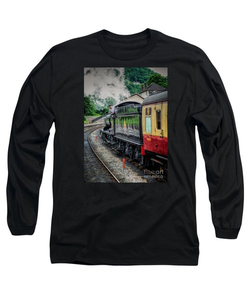 Steam Train 3802 Long Sleeve T-Shirt