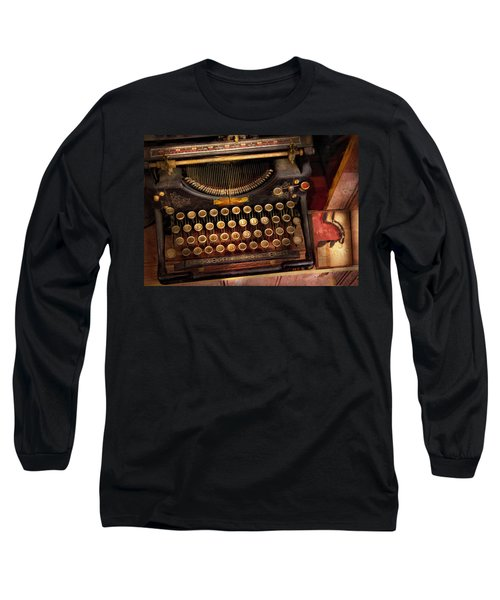 Steampunk - Just An Ordinary Typewriter  Long Sleeve T-Shirt