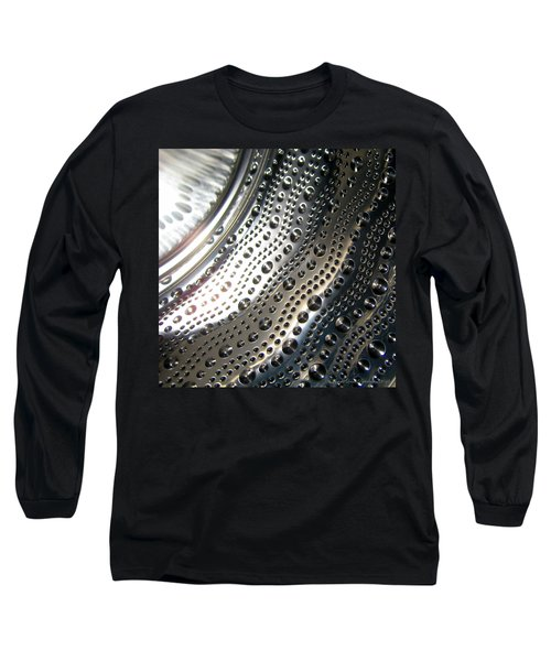 Long Sleeve T-Shirt featuring the photograph Steel Bubbles by Leena Pekkalainen