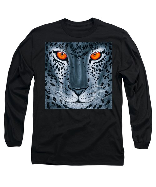 Steel Leopard Long Sleeve T-Shirt