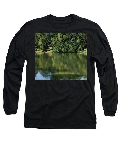 Steele Creek Park Reflections Long Sleeve T-Shirt