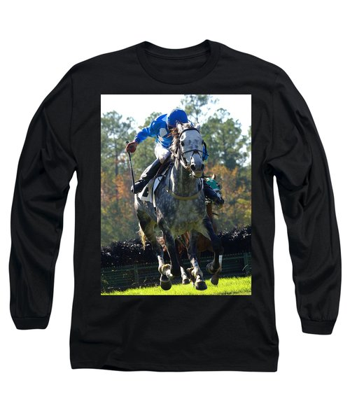 Long Sleeve T-Shirt featuring the photograph Steeplechase by Robert L Jackson