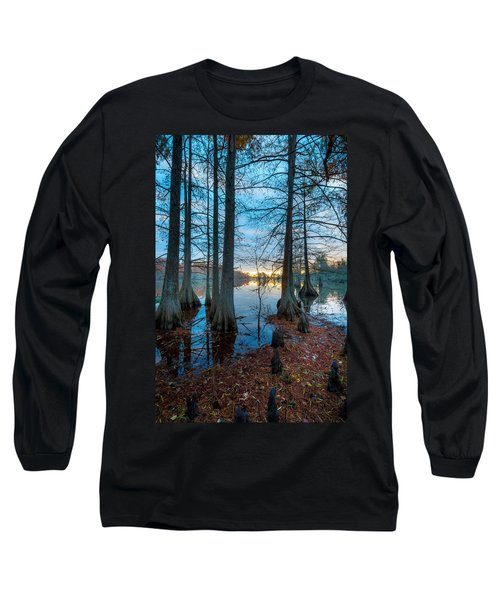 Steinhagen Reservoir Vertical Long Sleeve T-Shirt