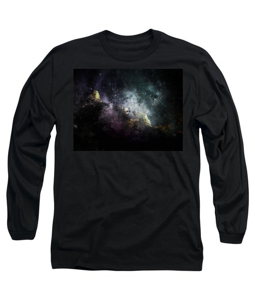 Stellar 2 Long Sleeve T-Shirt by Cynthia Lassiter