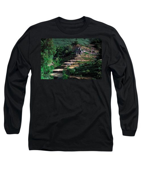 Step By Step Up Long Sleeve T-Shirt
