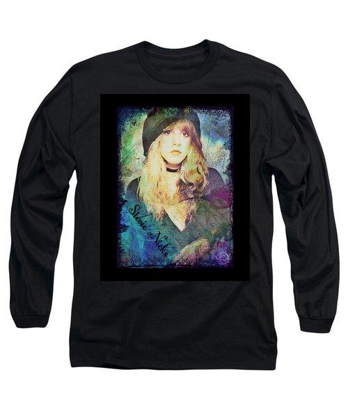 Stevie Nicks - Beret Long Sleeve T-Shirt