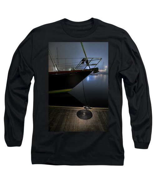 Long Sleeve T-Shirt featuring the photograph Still In The Fog by Marty Saccone