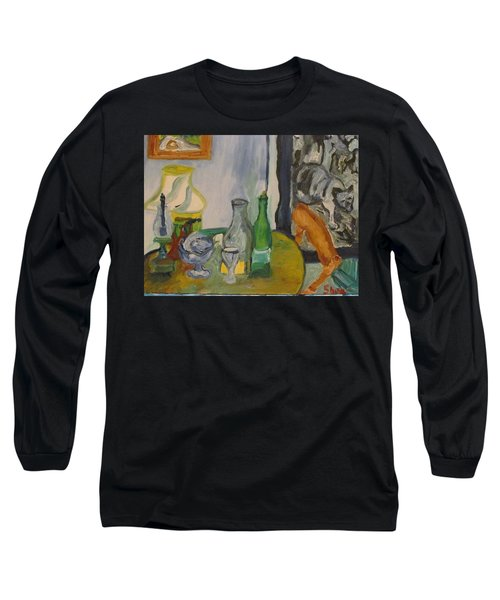 Still Life  With Lamps Long Sleeve T-Shirt