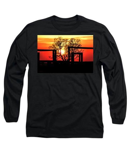 Stockyard Sunset Long Sleeve T-Shirt