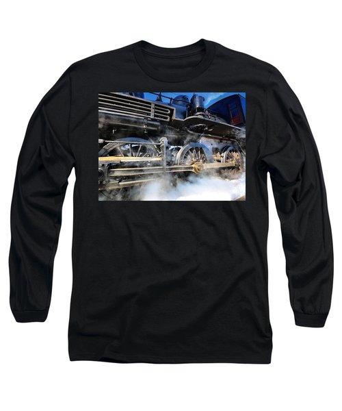 Stokin-tokin Long Sleeve T-Shirt by Robert McCubbin