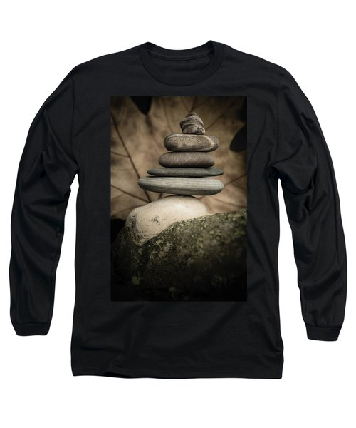 Stone Cairns Iv Long Sleeve T-Shirt