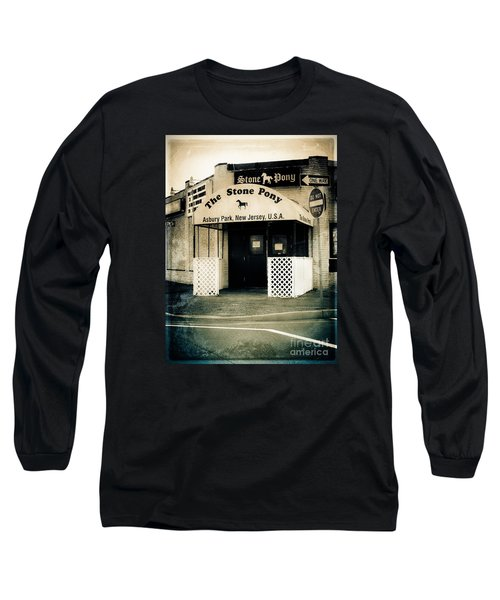 Stone Pony Long Sleeve T-Shirt by Colleen Kammerer