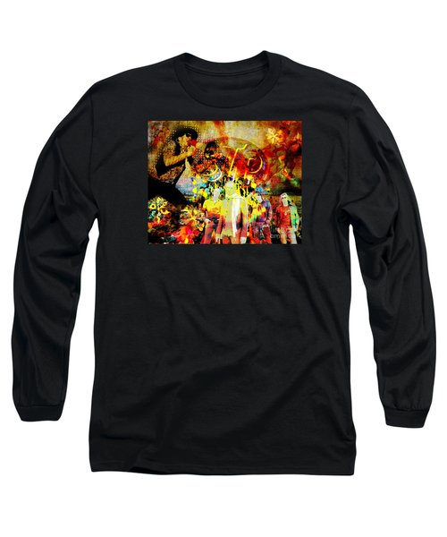 Stone Temple Pilots Original  Long Sleeve T-Shirt by Ryan Rock Artist