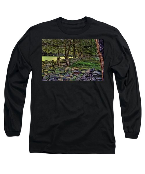 Stone Walled Long Sleeve T-Shirt