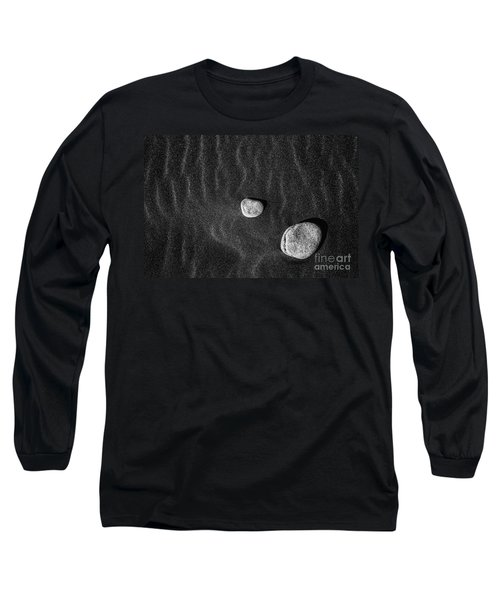 Long Sleeve T-Shirt featuring the photograph Stones In The Sand by Gunnar Orn Arnason