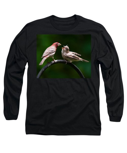 Stop Playing Dad. Give It To Me Long Sleeve T-Shirt by Robert L Jackson