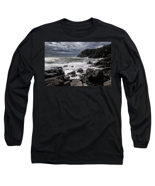 Storm At Gulliver's Hole Long Sleeve T-Shirt