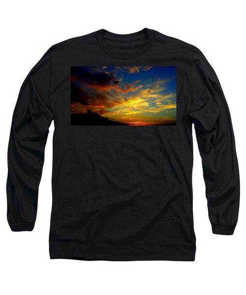 Storm Brings Beauty Long Sleeve T-Shirt by Chris Tarpening