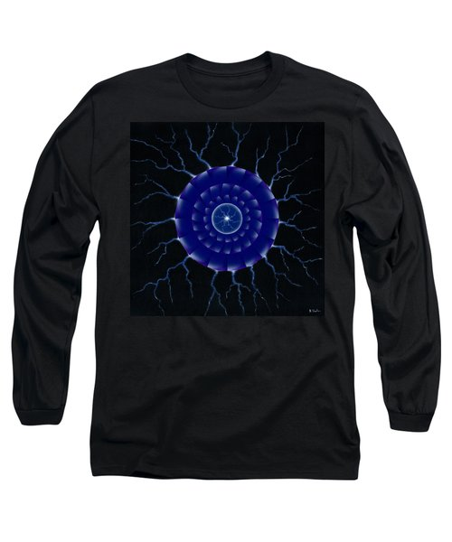 Long Sleeve T-Shirt featuring the painting Storm. by Kenneth Clarke
