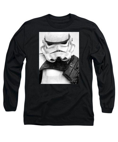 Stormtrooper Portrait Long Sleeve T-Shirt