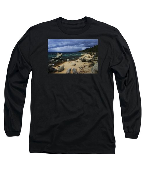 Long Sleeve T-Shirt featuring the photograph Stormy Days  by Sean Sarsfield