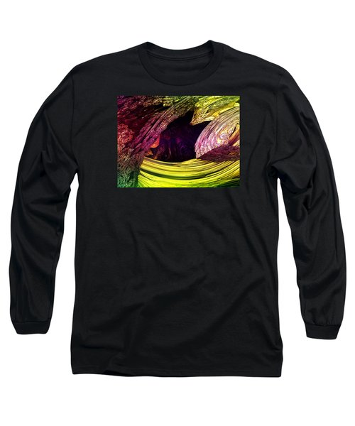 Long Sleeve T-Shirt featuring the digital art Story Of My Life by Jeff Iverson