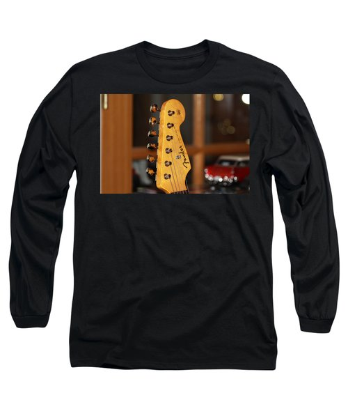 Stratocaster Headstock Long Sleeve T-Shirt