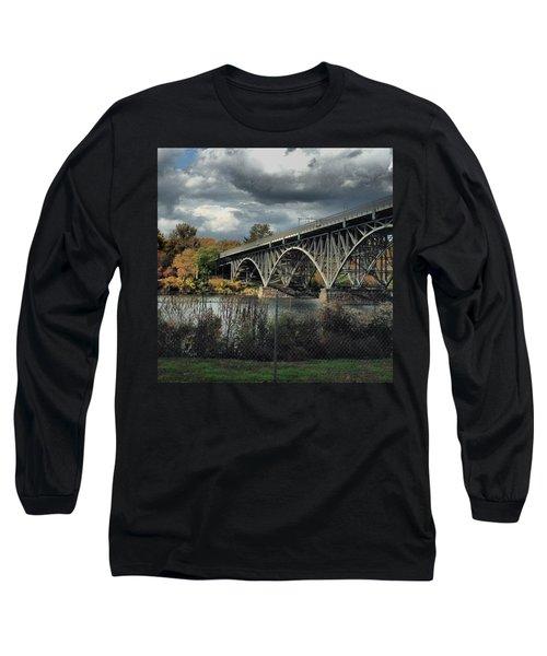 Strawberry Mansion Bridge Long Sleeve T-Shirt