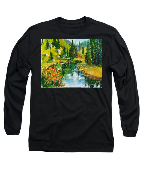 Strawberry Reservoir Long Sleeve T-Shirt