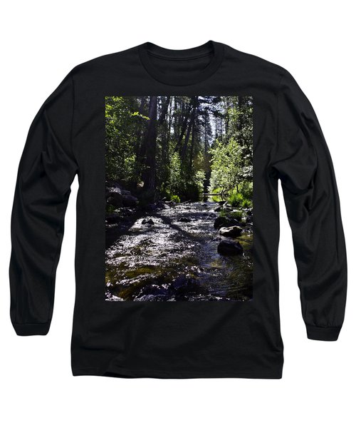 Long Sleeve T-Shirt featuring the photograph Stream by Brian Williamson