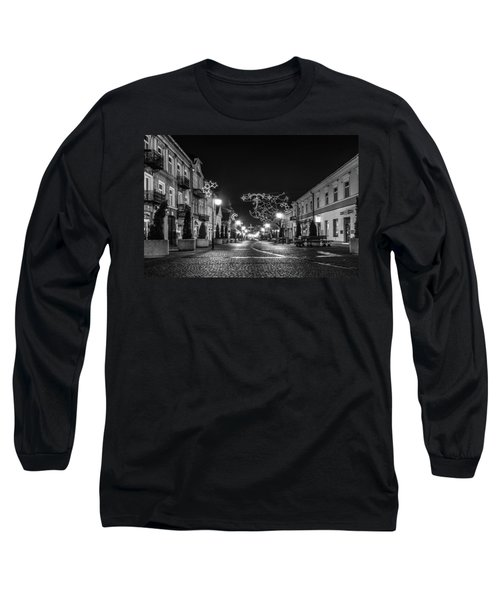 Streets Before Christmas Long Sleeve T-Shirt