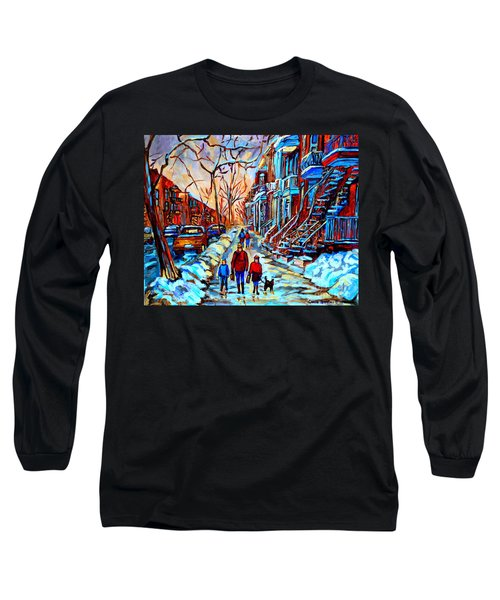 Streets Of Montreal Long Sleeve T-Shirt