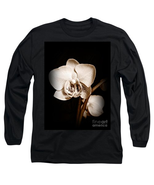 Strength And Beauty Sepia Long Sleeve T-Shirt