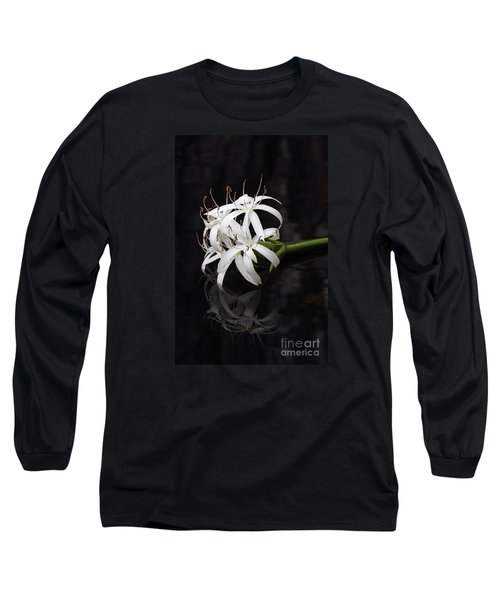 Long Sleeve T-Shirt featuring the photograph String Lily #1 by Paul Rebmann