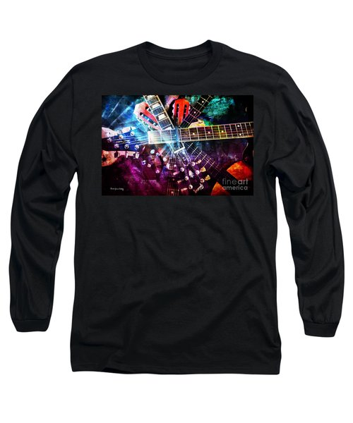 Strings Attached Long Sleeve T-Shirt by Randi Grace Nilsberg