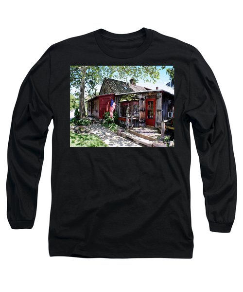 Strode Mill West Chester Pa Long Sleeve T-Shirt by Polly Peacock
