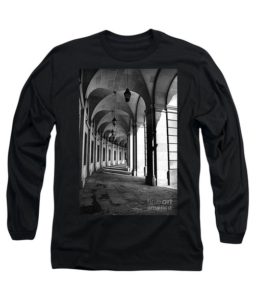 Long Sleeve T-Shirt featuring the photograph Study In Black And White by John S