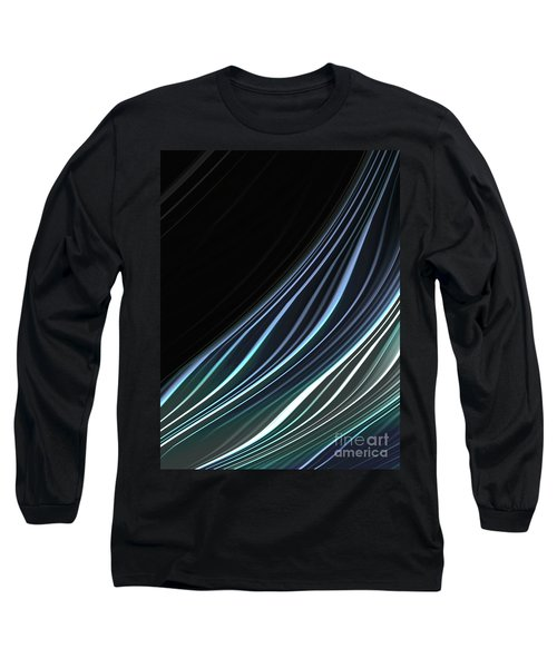 Study In Blues Long Sleeve T-Shirt