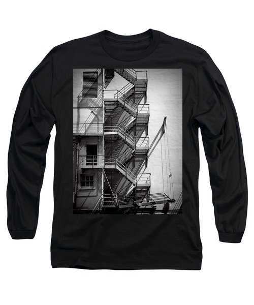 Study Of Lines And Shadows Long Sleeve T-Shirt