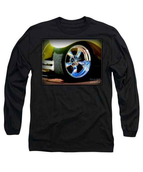 Long Sleeve T-Shirt featuring the photograph Stylin' Wheels by Bobbee Rickard