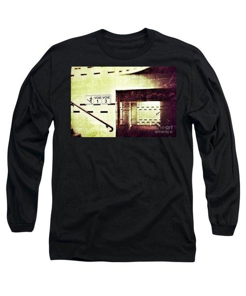 Subway  Long Sleeve T-Shirt by Nick  Biemans