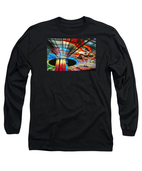 Subway Station Ceiling  Long Sleeve T-Shirt