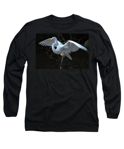Long Sleeve T-Shirt featuring the photograph Successful Hunt by Charlotte Schafer