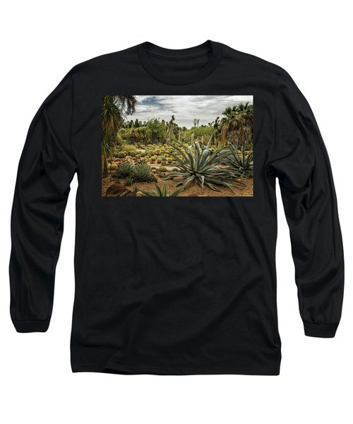 Succulents At Huntington Desert Garden No. 3 Long Sleeve T-Shirt