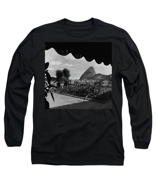 Sugarloaf Mountain Seen From The Patio At Carlos Long Sleeve T-Shirt