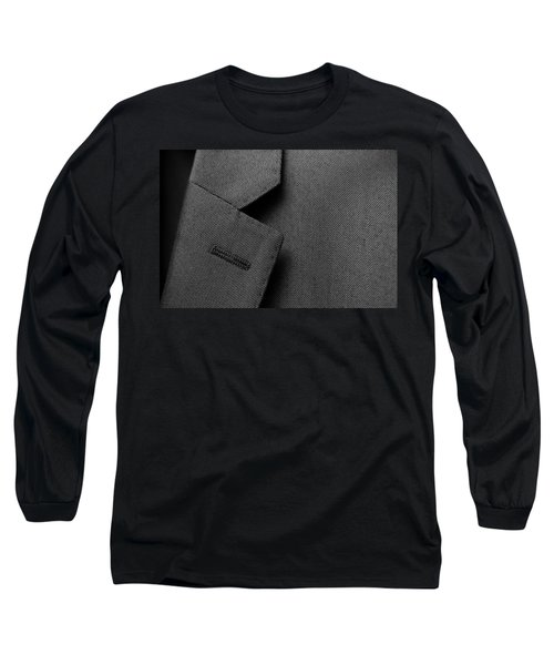 Suit Texture Long Sleeve T-Shirt