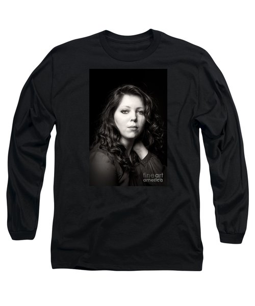 Sultry In Sepia Long Sleeve T-Shirt