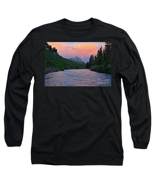 Summer Evening Reflections Long Sleeve T-Shirt